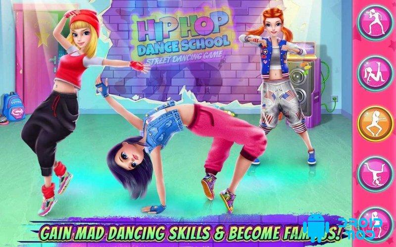 Hip Hop Dance School Game
