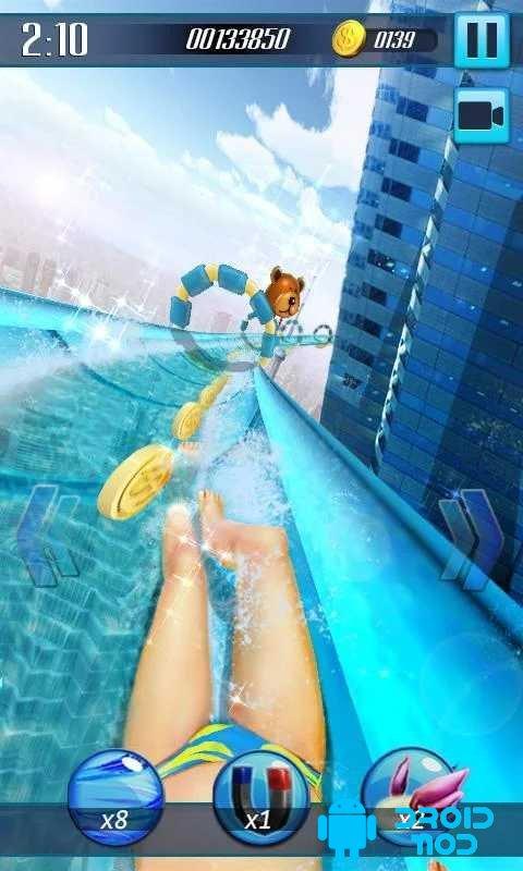 Водные горки 3D