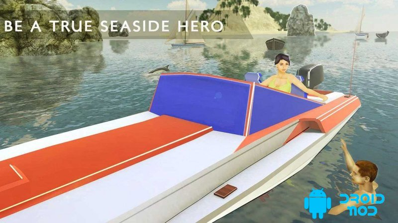 Beach Rescue Lifeguard Team