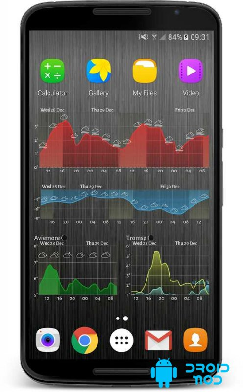 Meteogram Pro Weather Forecast