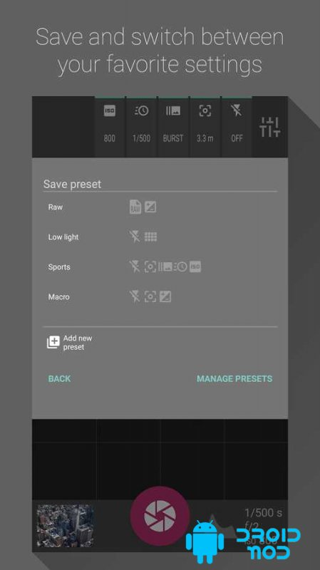 Shoot – Pro Photo Camera