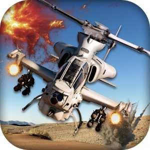 Боевой вертолет Хели войны