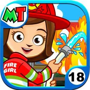 My Town: Fire station Rescue