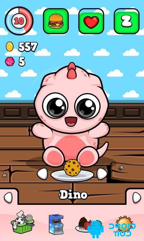 Baby Dino Virtual Pet Game