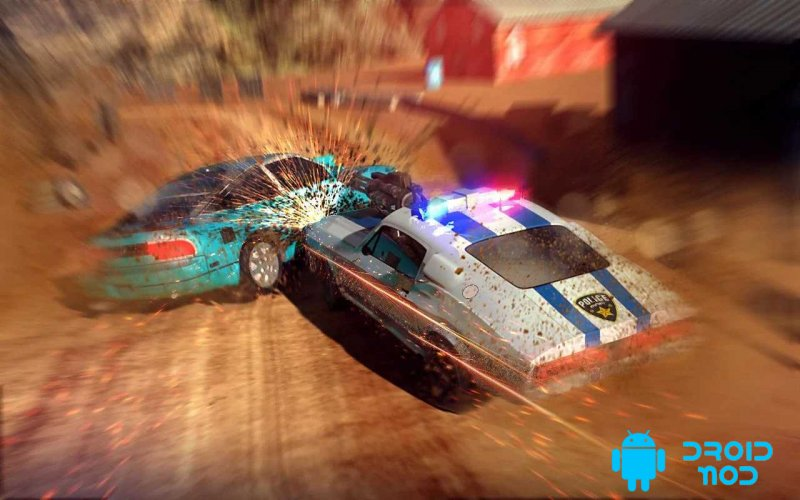 Police Shooting Car Chase PRO