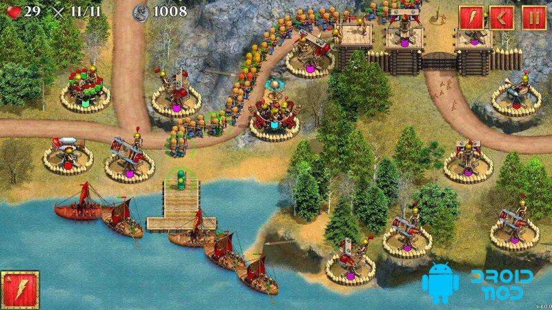 Defense of Roman Britain Premium: Tower Defense