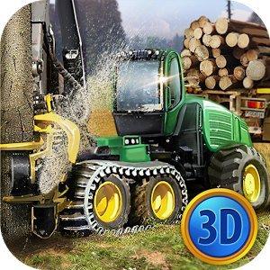 Симулятор Водителя Лесопилки 3D