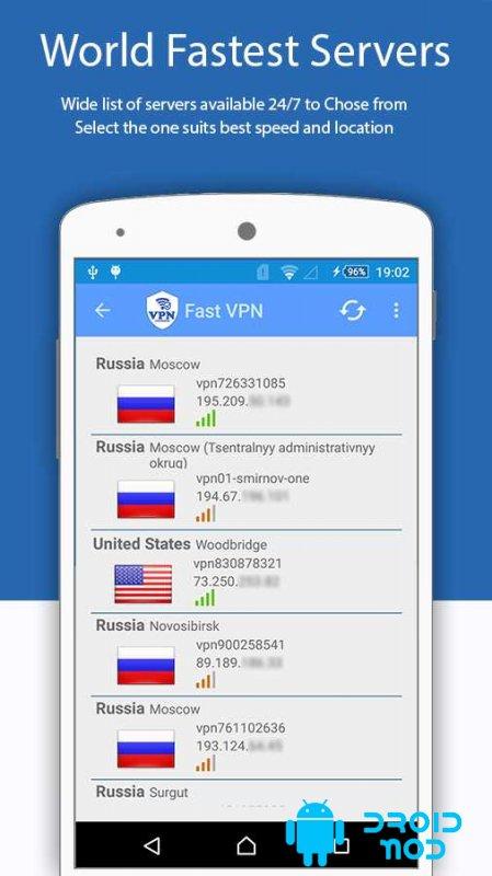 Free VPN Super Fast Unlimited VPN Client
