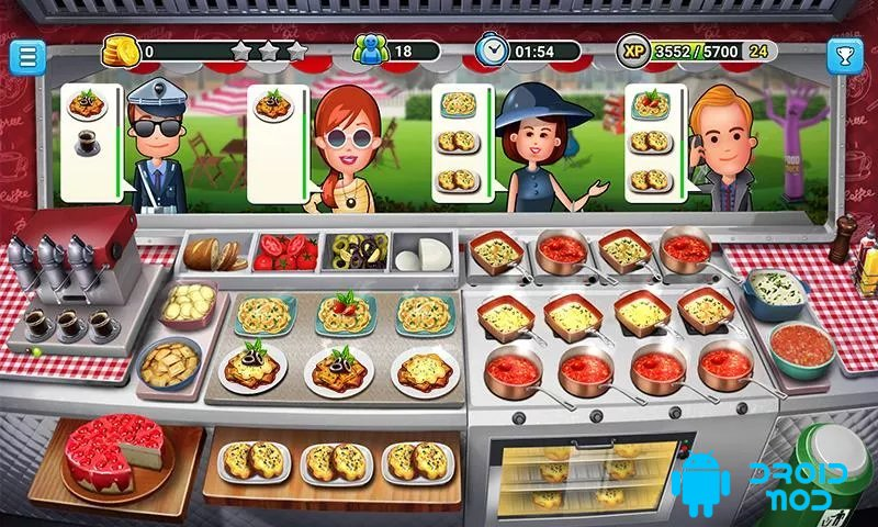 Food Truck Chef: Cooking Game - кулинарная игра