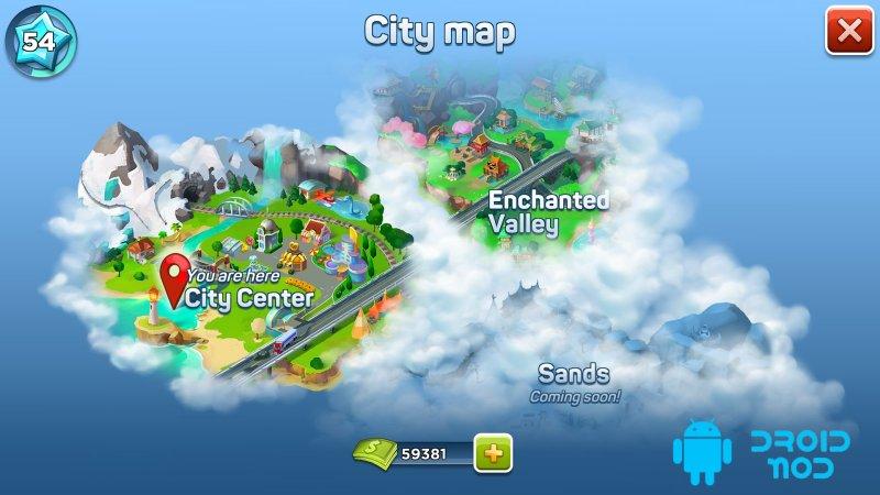 SuperCity: Строй город чудес!