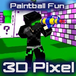 Paintball Fun 3D Pixel Online