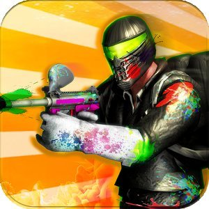 Paintball Shooting Arena: Real Battle Field Combat