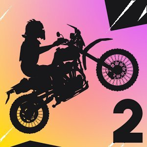 Smashable2: экстремальные мотоцикл гоночная игра