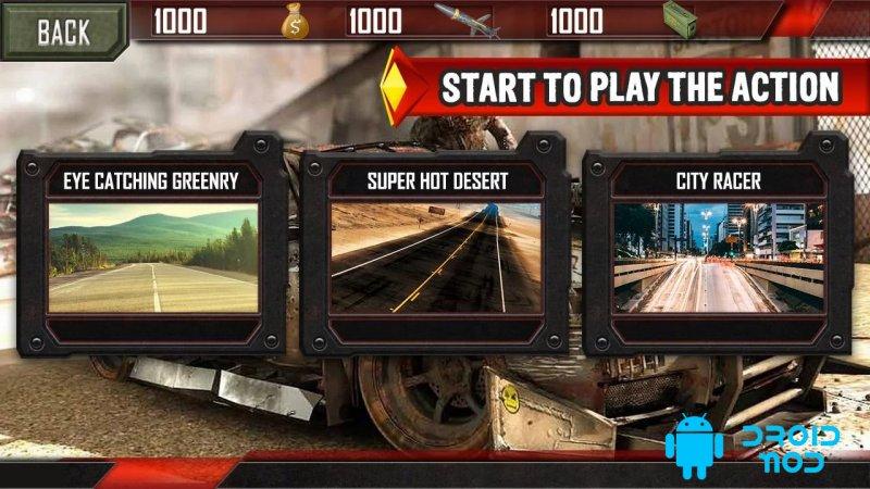 Mad Death Race: Max Road Rage