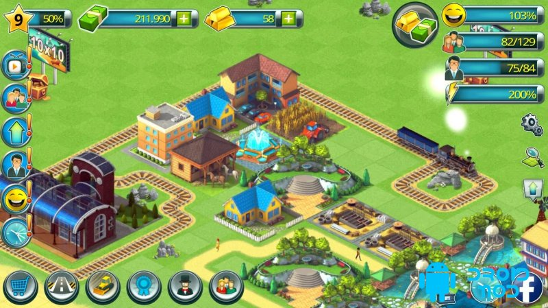 Tropic Town Island City Bay - Paradise Escape Sim