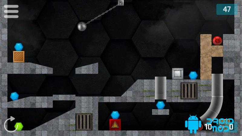 Hexasmash Pro - Wrecking Ball Physics Puzzle