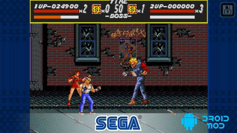 Streets of Rage Classic