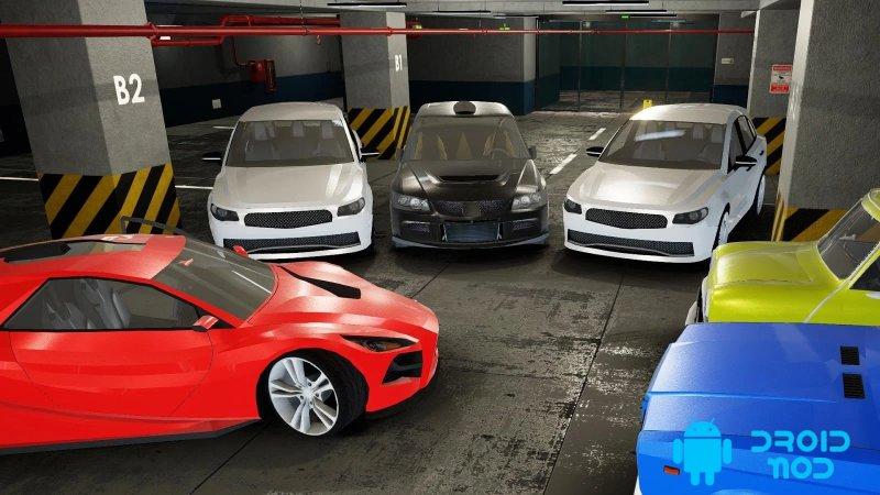 Valet Стоянка : Многоуровневая парковка игра