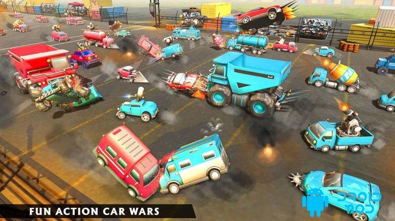 Симулятор симуляции автомобиля: Epic Battle