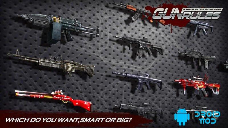 Gun Rules: Warrior Battlegrounds Fire