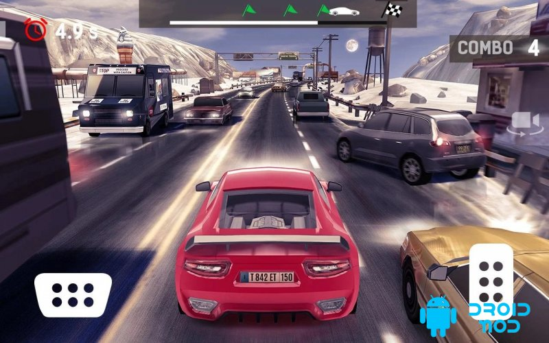 Traffic Xtreme 3D: Fast Car Racing & Highway Speed