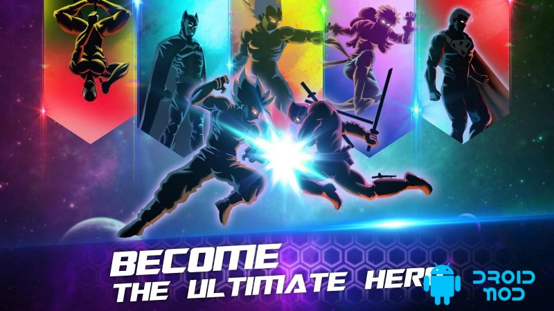 Shadow Battle Warriors  Super Hero Legend