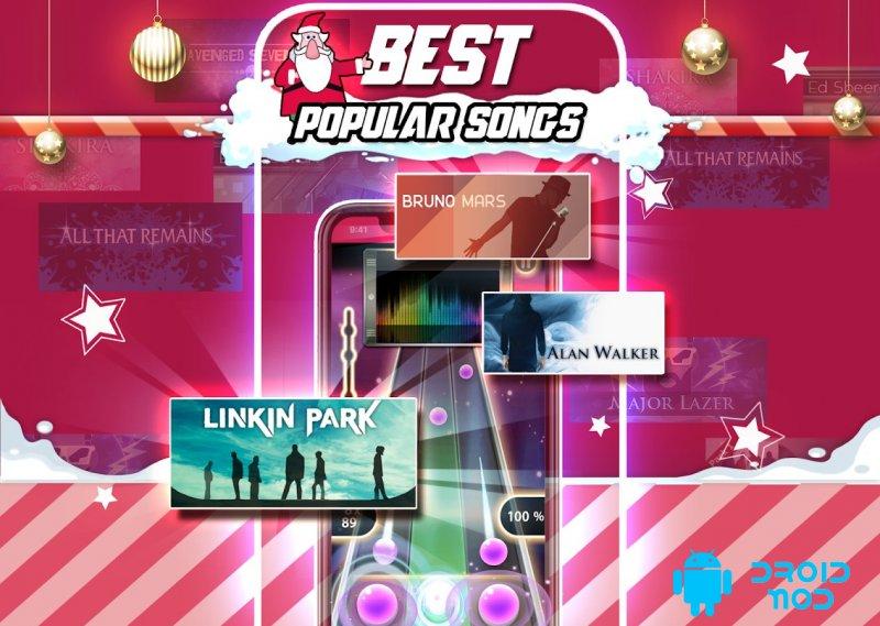 Tap Tap Reborn 2: Popular Songs Rhythm Game