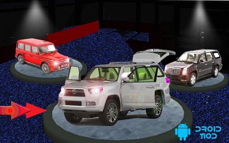Экстремальный Prado автомобиль smulator 2017