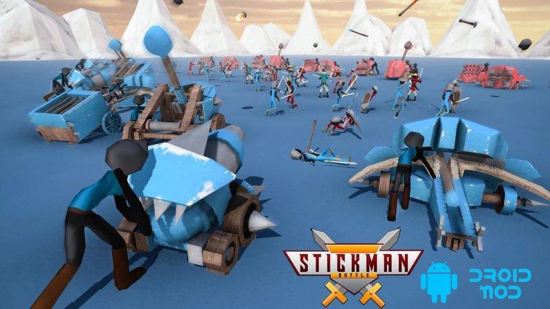 Окончательный боевой симулятор Stickman
