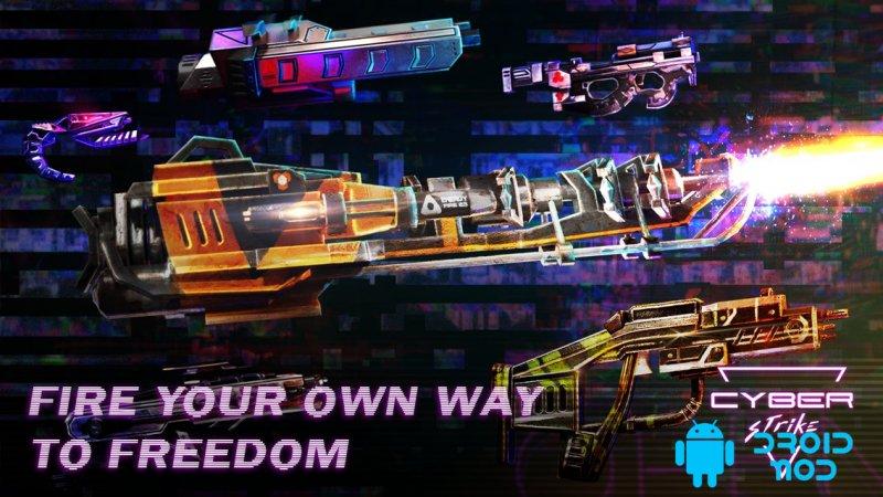 Cyber Strike: Infinite Runner