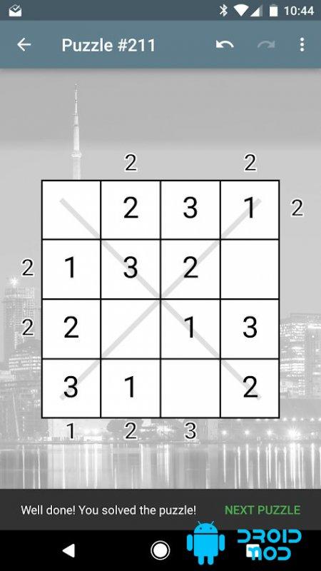 Skyscrapers Number Puzzle Premium