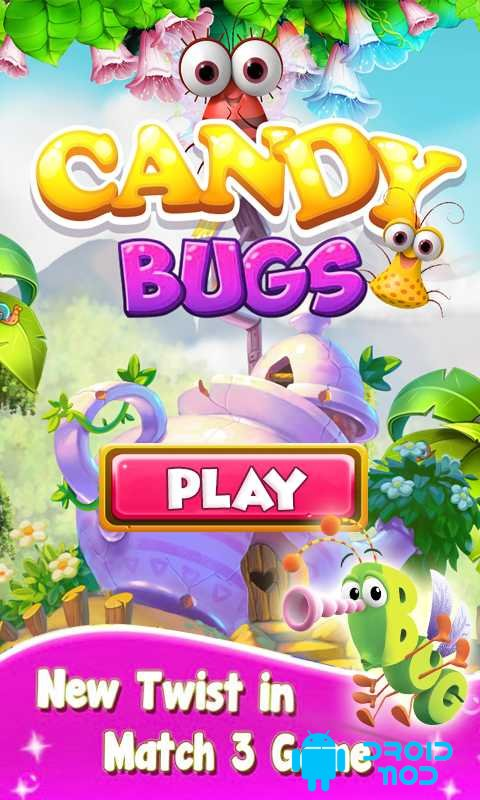 Candy Bug Match 3
