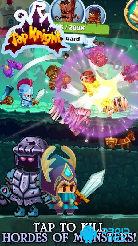 Tap Knight - RPG Idle-Кликер Эпичная Сага