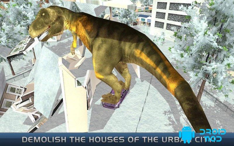 Последние динозавры: городской разрушитель