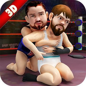 Dwarf Wrestling: Smack the super junior wrestlers