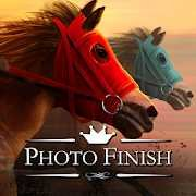 Photo Finish Horse Racing