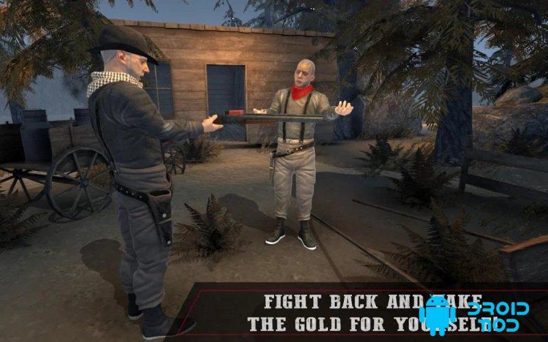 West Mafia Redemption: Gold Hunter FPS Shooter