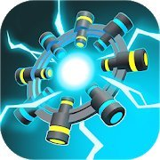 Spin Reactor: Fast Reaction Puzzle Game
