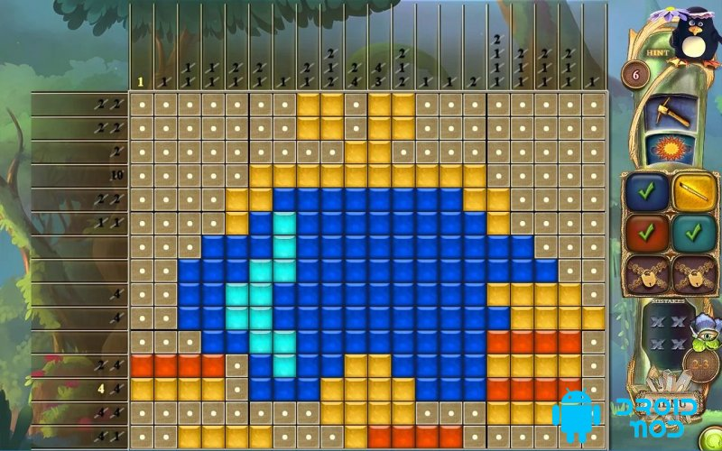 Fantasy Mosaics 28: Treasure Map