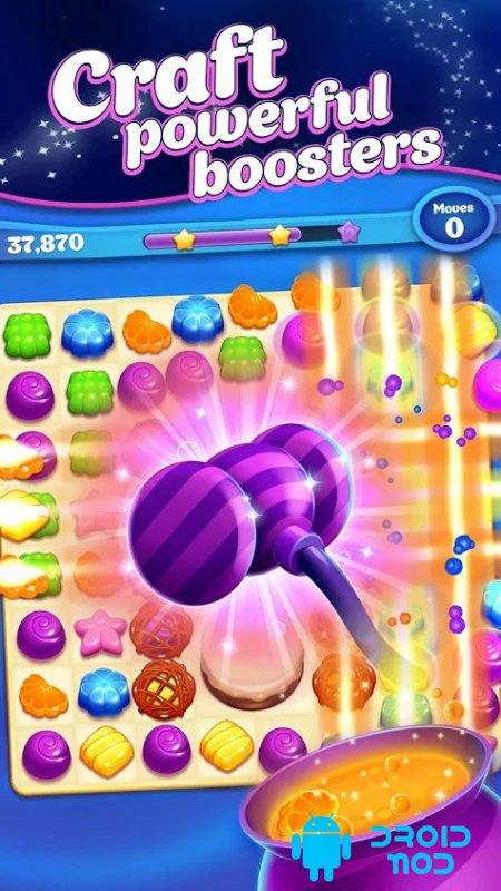 Crafty Candy: приключения в игре «три в ряд»