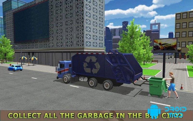 Garbage Truck Simulator PRO 2018