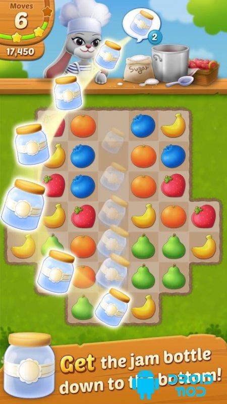 Fruit Jam: Puzzle Garden