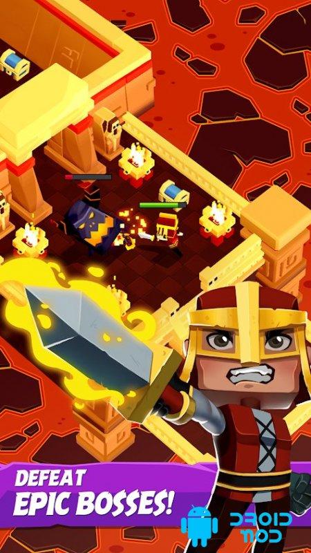 Dungeon Escape - Action RPG crawler: hack & slash!