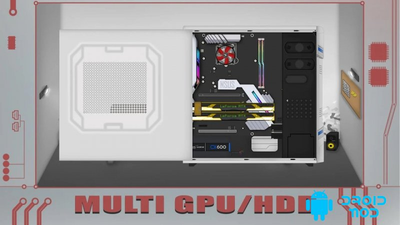 PC Architect Advanced (PC building simulator)