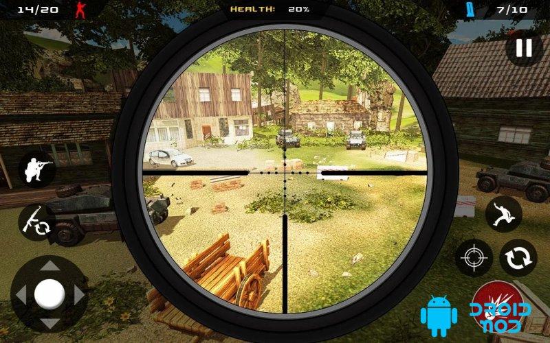 Sniper Ghost Commando Warrior - Выживание джунглей