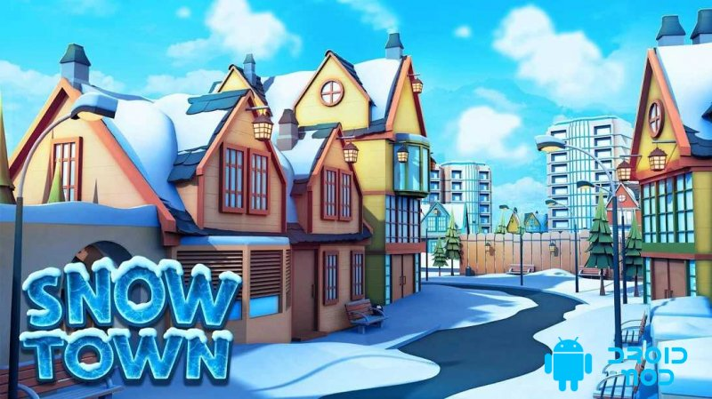 Snow Town - Ice Village World