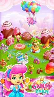 Sweet Candy Farm with magic Bubbles
