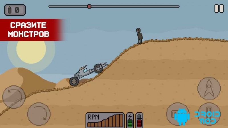 Death Rover - Луноход против зомби