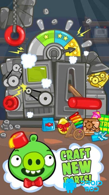 скачать Bad Piggies Hd мод много денег и алмазов - фото 6