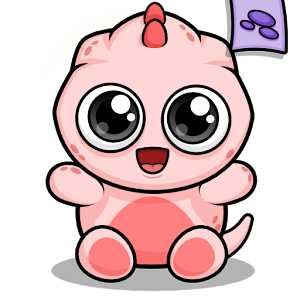 Baby Dino Virtual Pet Game